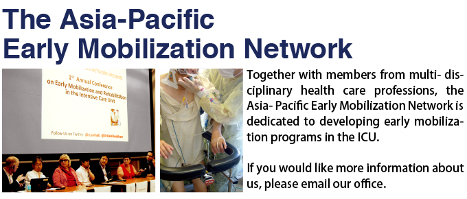 The Asia-Pacific Early Mobilization Network